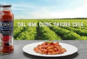 Nuova campagna di comunicazione Cirio