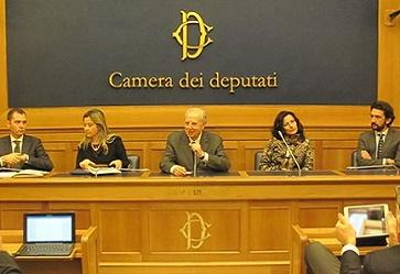 Il cartone «attivo» alla Camera dei deputati